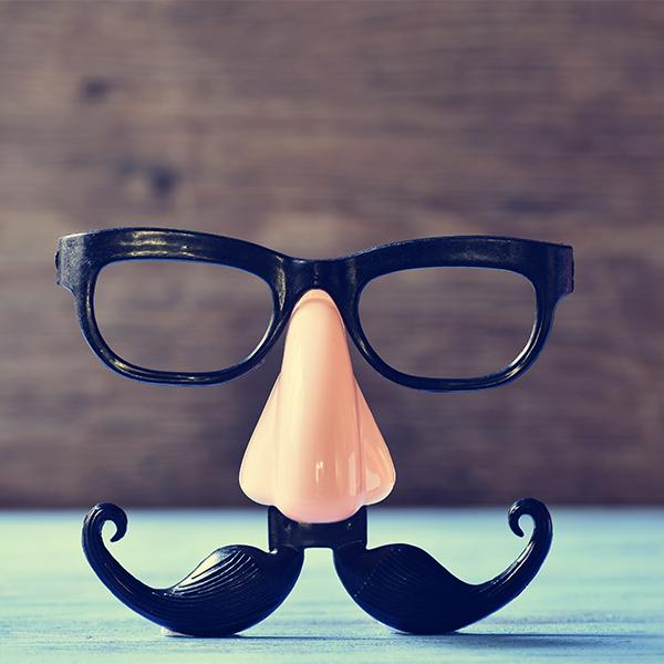 mustache glasses and mustache