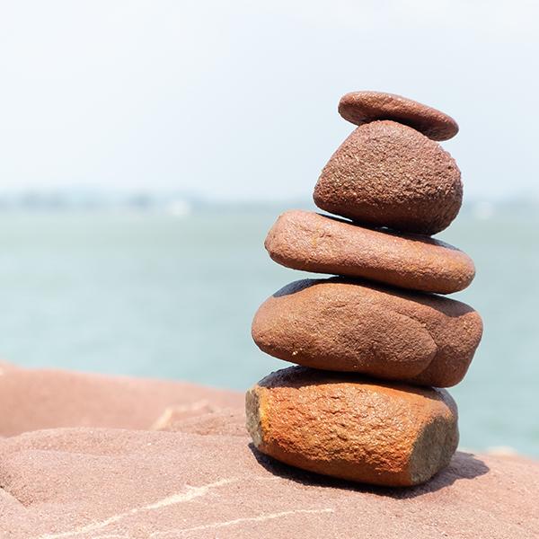 brown rocks on brown rock