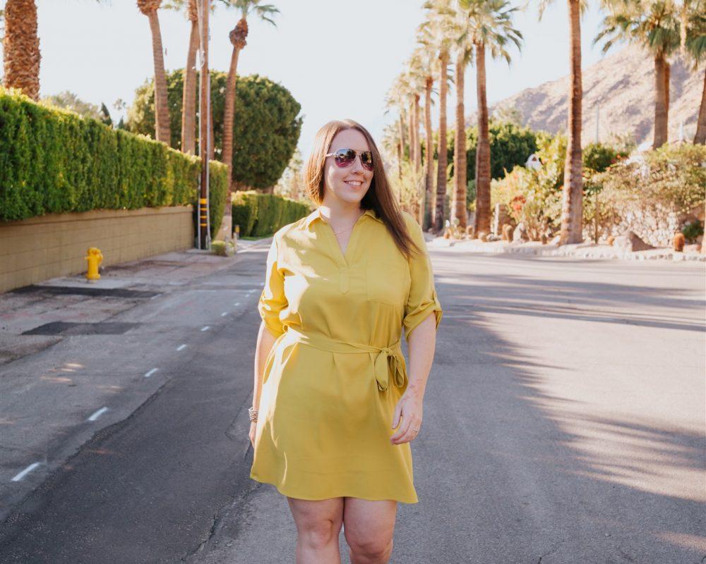 Laura in Palm Springs